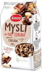 EMCO 12× Mysli Sypané Čokoláda 750 g