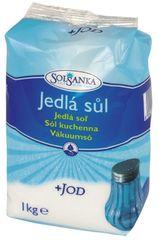 SOLSANKA Jedlá soľ s jódom 10 × 1 kg