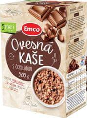 EMCO Ovsená kaša s čokoládou 5 × 55 g