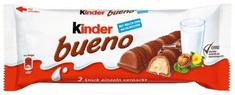 KINDER Bueno oblátka s čokoládovou polevou a mliečnou lieskovoorieškovou náplňou 30 × 43 g