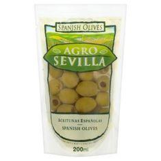 SPANISH OLIVES Agro Sevilla španělské olivy 24× 200 g