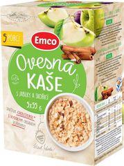 EMCO Ovsená kaša s jablkami a škoricou 5 × 55 g
