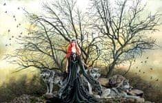SunsOut Puzzle 1000 dílků Nene Thomas - Red Haired Witch