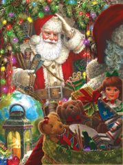 SunsOut Puzzle 1000 dílků Liz Goodrick Dillon - Ready to Go Santa