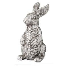 Lene Bjerre Stojící králík SERAFINA stříbrný 11cm
