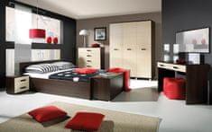 Maridex Max ložnice sestava E - Matrace 160 x 200, Dub Sonoma