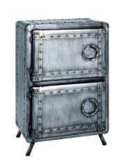 Mørtens Furniture Komoda Trident, 86 cm, antracitová