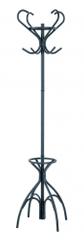 Mørtens Furniture Stojanový věšák Jessy, 186 cm, černá