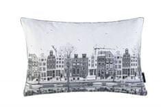 Ch. Fischbacher Dekorativní polštář NEDERLANDS, šedý