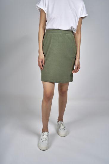 b.young dámska sukňa Pusti 20807579 XXL zelená