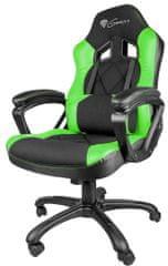 Genesis Nitro 330, čierna/zelená (NFG-0906)