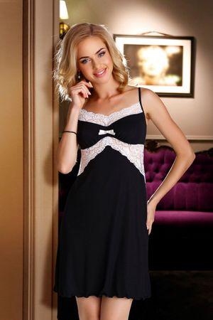 Eldar Női kombiné Bona black-ecru, fekete, XL