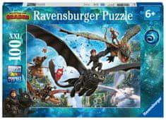 Ravensburger puzzle Jak wytresować smoka 3,100 elementów