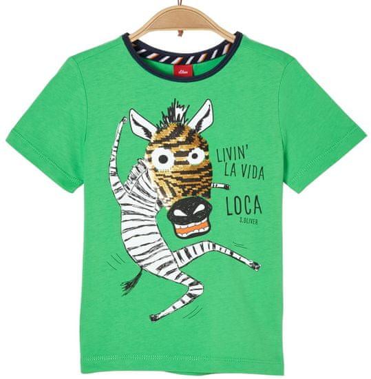 s.Oliver detské tričko 92/98 zelené