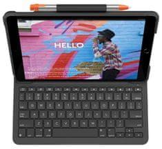 Logitech Slim Folio tipkovnica za iPad 7 (2019), SLO g.