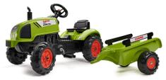Falk Traktor Claas Arion 410 z przyczepką