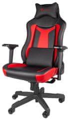 Genesis Nitro 790, fekete/piros (NFG-1365)