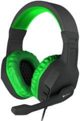 Genesis Argon 200, fekete/zöld (NSG-0903)