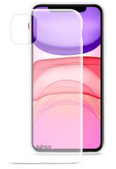 EPICO Silicone Case 2019 maska za iPhone 11, bijelo-transparentna (42410101000003)
