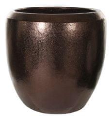 Shishi Ceramiczna doniczka złota 50 x 49 cm