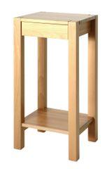 Mørtens Furniture Odkladací stolík Landon, 73 cm, buk