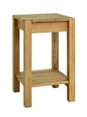 Mørtens Furniture Odkladací stolík Luke, 60 cm, dub