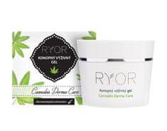 RYOR Konopný výživný gél 1% Cannabis Derma Care 50 ml