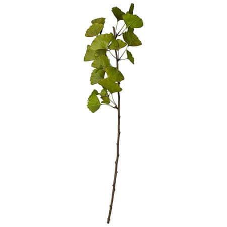Lene Bjerre GINKO zielona sztuczna gałązka o wysokości 77 cm