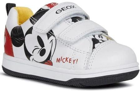 Geox chlapčenské tenisky NEW FLICK B021LA_08554_C0050 23 biela