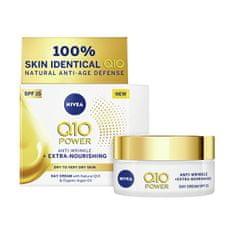 Nivea Výživný denný krém proti vráskam Q10 OF 15 ( Anti-Wrinkle Extra Nourishing Cream) 50 ml