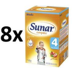 Sunar Complex 4 jahoda, 8x600g