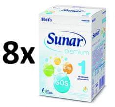 Sunar Premium 1, 8x600g