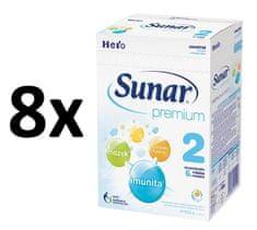 Sunar Premium 2, 8x600g