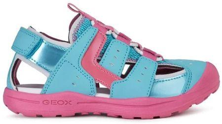 Geox sandały dziewczęce VANIETT J026AA_050BN_C3337 30 różowe