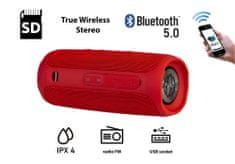 Manta SPK130GO Bluetooth zvočnik, rdeč