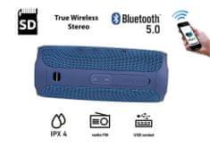 Manta SPK130GO Bluetooth zvučnik, plavi