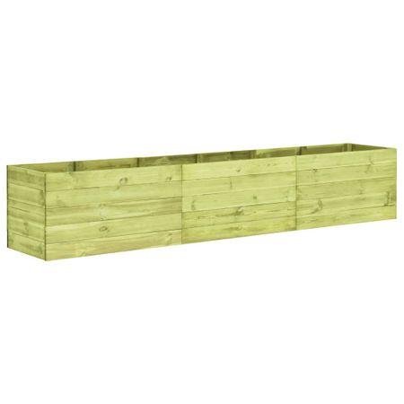 Donica ogrodowa, 300x50x54 cm, impregnowane drewno sosnowe