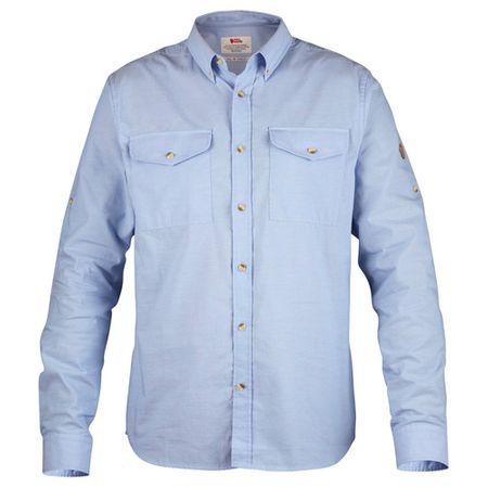 Fjällräven Övik Chambray Shirt, Blue Ridge | 519 | Z