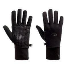 Icebreaker Adult Sierra Gloves, I001 TWISTER Hthr / GLACIER / JET Hthr | XL