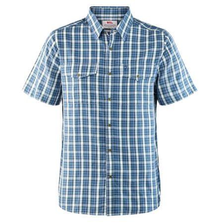 Fjällräven Abisko Cool Shirt SS, Kék bácsi | 520 | L
