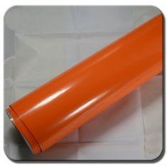 CWFoo Lesklá oranžová wrap auto fólia na karosériu