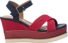 Refresh Dámske sandále Red Textile Ladies Sandals 69595 Red