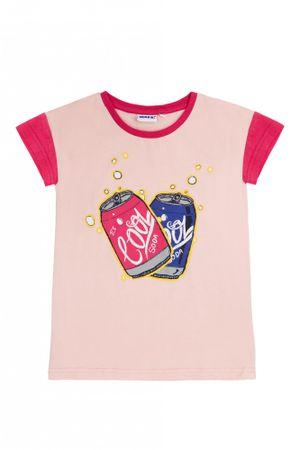 WINKIKI koszulka dziewczęca 152 różowa