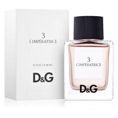 Dolce & Gabbana Anthology L`Imperatrice 3 toaletna voda, 50 ml