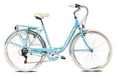 Capriolo Tour Diana City gradski bicikl, 28/6HT, tirkizan
