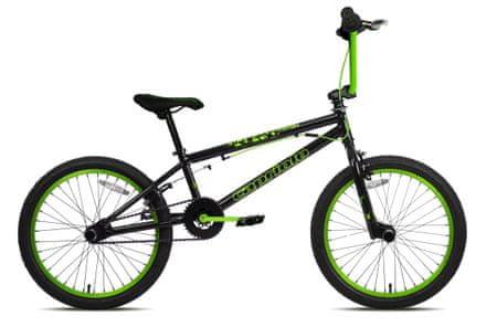 Capriolo BMX 20HT Totem kolo, črno/zeleno
