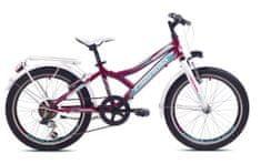 Capriolo MTB Diavolo 200 City dječji bicikl, ljubičasti/bijeli