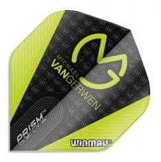 Winmau Letky Prism Delta - Michael van Gerwen - Black and Green W6915.207