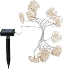 HEITRONIC HEITRONIC solární LED světelný řetěz 10ti dílný AMORE 35293