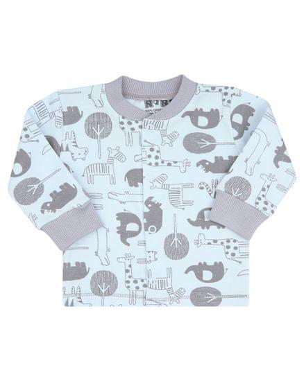 Nini chlapecký kabátek z organické bavlny 56 modrá